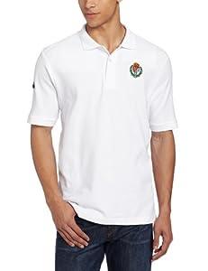 Kappa Men's Real Valladolid Polo Tee, White, Small