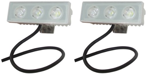 Shoreline Marine LED Spreader/Docking Light - 2 Pack
