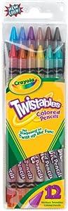 Crayola Twistable Colored Pencils, 12 count (68-7408)