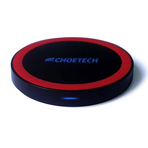 Choetech Qi Wireless Charger Mini Charging Pad Station For All Qi Standard Compatible Devices Including Nexus 5, Nexus 7(2013) , Nexus 4,Nokia Lumia 1020/ 920/928, Moto Droid Maxx/Droid Mini,Htc Droid Dna, Htc Rzound,Blackberry Z30,Pentax Wg-Iii Camera,Sa