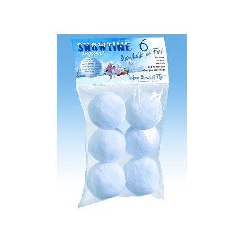 Play Visions Snowtime Snowballs (6-Pack) - 1