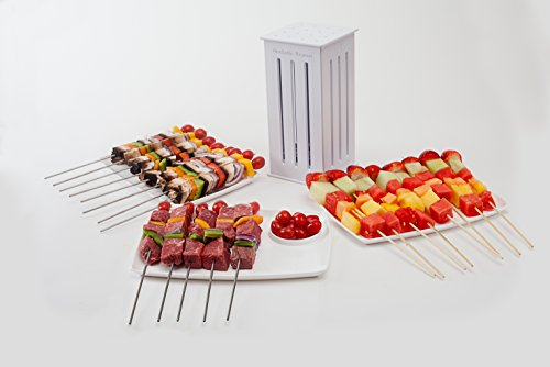 Read About Brochette Express with 32 bamboo skewers