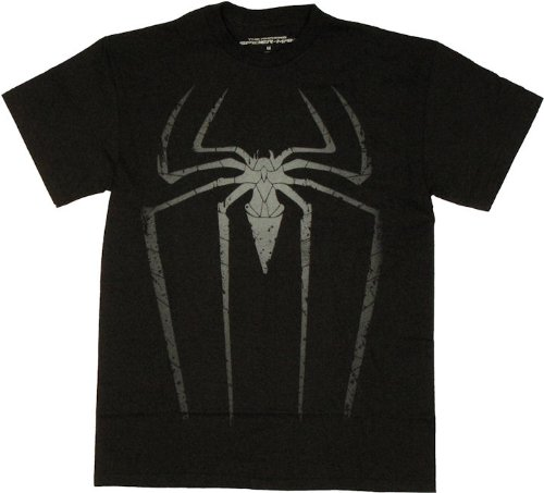 Mad Engine Men's Amazing Spiderman Spida Spot T-Shirt