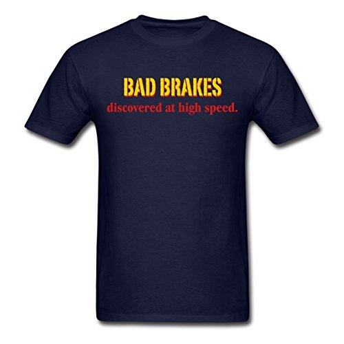 Spreadshirt Men's bad_brakes MP T-Shirt, navy, XXL image