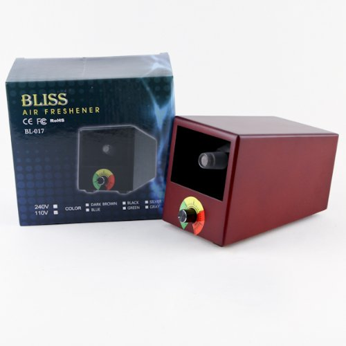 Image of Bliss Cave Shape Aromatherapy Diffuser Vaporizer | Dark Brown (B00A0Z6K7W)
