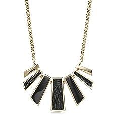 Fairhaven Collar Necklace<br>Black