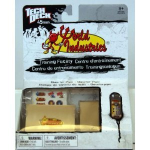 Tech Deck World Industries Quarter Pipe 45mm (Mini) with
