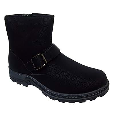 Toe Warmers Darren Mens Winter Boots (11 W, Black