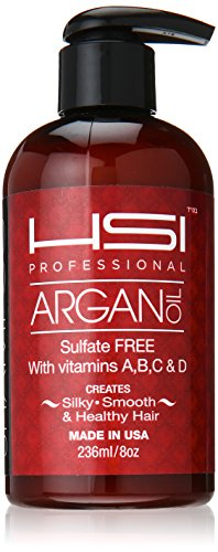 HSI Professional Smoothing Shampoo with Argan Oil, 8 Ounce (Morrocan Flat Iron compare prices)