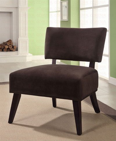 Brown Accent Chair by Coaster Furniture