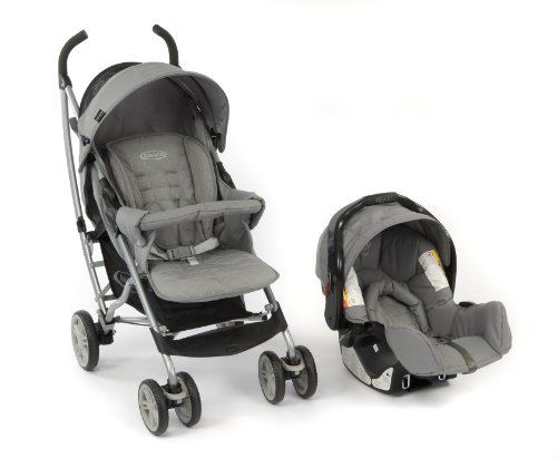 Graco Mosaic Pushchair Travel System (Mode Gris)