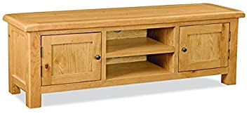 Global Home Products Collection 27 TV Unit, Wood, Brown, Extra Large