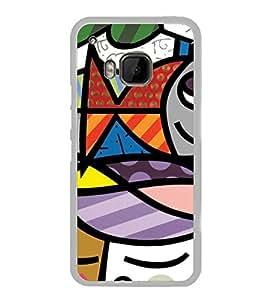 Graffiti 2D Hard Polycarbonate Designer Back Case Cover for HTC One M9 :: HTC One M9S :: HTC M9 :: HTC One Hima