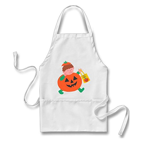 [Vintage Apron Homemade Aprons Halloween Candy White Apron] (Homemade Cotton Candy Halloween Costumes)