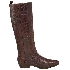 vegan mock croc boots