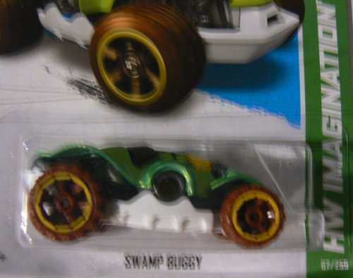 Hot Wheels HW Imagination 67/250 Swamp Buggy Green