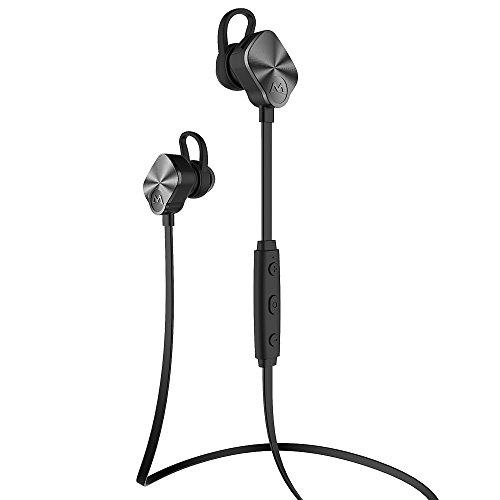 [Bluetooth 4.1, CVC 6.0, 18 mois Garantie] Mpow Wolverine Casque de sport Bluetooth stéréo écouteurs intra-auriculaires sans fil Oreillette avec Suppression de bruit/ Mains libres/ Micro intégré/ 175 heures en veille pour Apple, iPhone 6s, Android, Windows Smartphone et d'autres Appareils Bluetooth