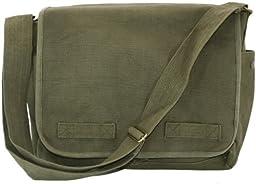 Original Heavyweight Classic Messenger Bag Olive Green