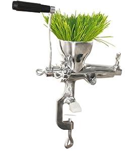 Weston Manual Wheatgrass Juicer, Stainless Steel by Pragotrade