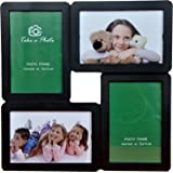 OM Arts Wooden Collage Photo Frame Sweet Long Lasting Memories (23 Cm X 24 Cm X 2.5 Cm, 123764)