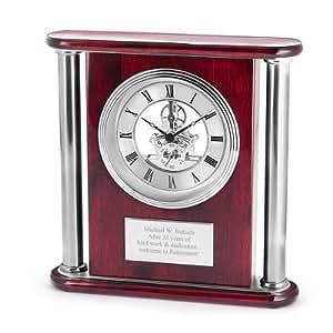 Personalised Clock Wedding Gift India : ... Skeleton Clock - Personalized Wedding Gifts - Mechanical Alarm Clocks