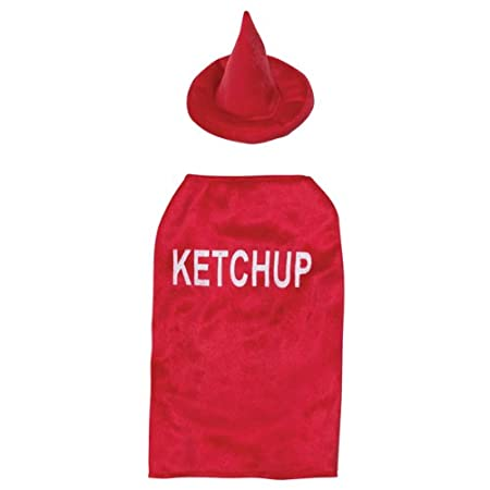 Casual Canine Ketchup Pet Costume