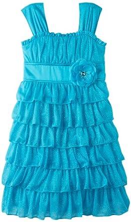 amazoncom my michelle big girls ribbon belted dress