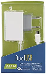 Accede Charger for All Smartphones (White)