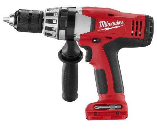 Bare-Tool Milwaukee 0824-20 18-Volt Cordless V18 Lithium-Ion 1/2-Inch Hammer Drill (Tool Only, No Battery)