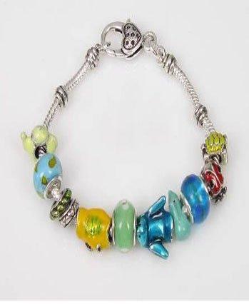 Pandora Style Bracelet Peace Theme