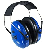 3M Peltor 90554 Kid's Earmuff, Blue