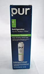 Pur Refrigerator Ice & Water Filter Bottom Freezer F4PC6C1 by PUR