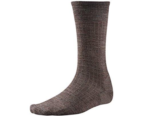 Smartwool Men's New Classic Rib Socks (Taupe) Large Taupe Mens Socks