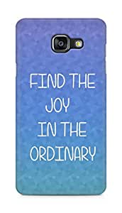 AMEZ find the joy in the ordinary Back Cover For Samsung Galaxy A5 (2016 EDITION)