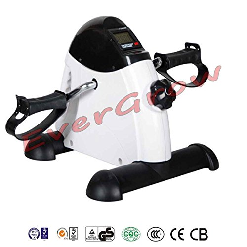 Mini-Pedal-Exerciser-Bike-Fitness-Exercise-Cycle-Leg-Arm-w-LCD-Display-Home-Gym