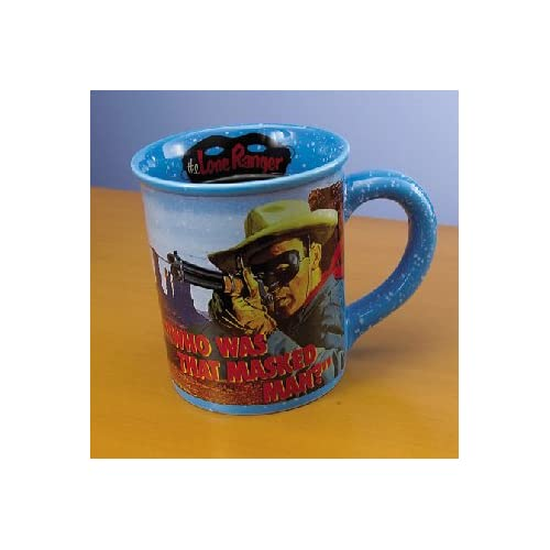 The Lone Ranger 16 Oz Coffee Mug *SALE*: Sports & Outdoors