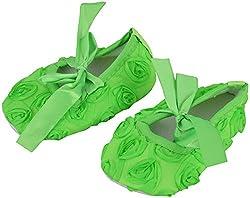 PAPOOSE Girls Green Synthetic Walking Shoe- 3Uk