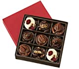 Chocolate Turtles - Terrapins Assortment Gift Box, 9-Piece Box