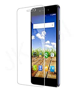 Jkobi Explosion Proof Quality Tempered Glass For Micromax Canvas Mega E353 Scratch Protector Screen Guard