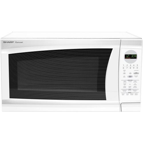 Countertop Microwave Reviews 2012 : ... Sharp R-520LW Full Size Countertop Micro Countertop Microwave Ovens