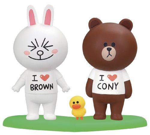 LINE CHARACTER ブラウン&コニー ラブラブセット