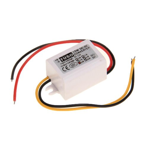 Waterproof Dc 12V Step Down To 5V Converter Power Supply Module 3A