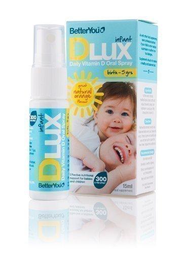 Better You D Lux,spray orale alla vitamina D per bambini,15ml (2 pezzi)