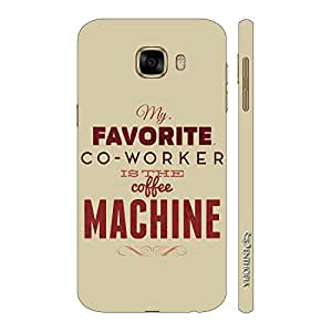 Enthopia Designer Hardshell Case My Coffee Machine Back Cover for Samsung Galaxy C5