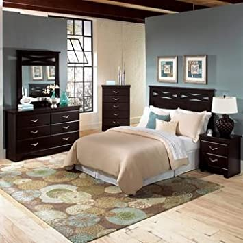 Standard Furniture Crossroads 3 Piece Panel Headboard Bedroom Set