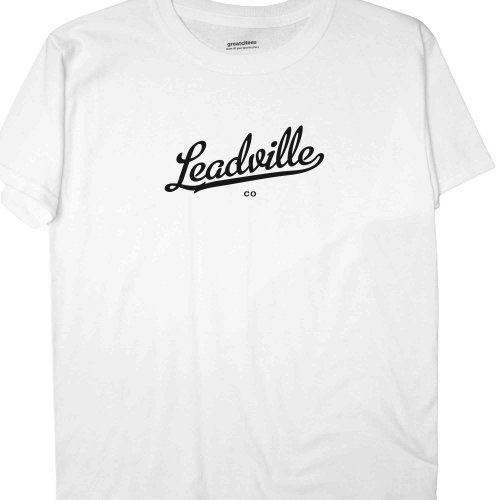 Greatcitees Unisex Leadville Colorado Co T Shirt Metro Youth-Large White