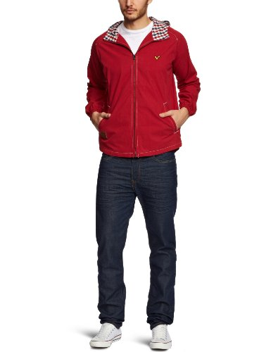 Voi Mod Men's Coat Chilli Red X-Large