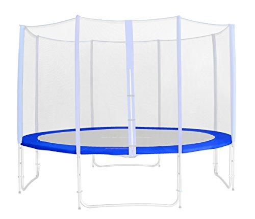 Randabdeckung Blau für Gartentrampolin 1,85 M - 4,60 M - Ersatzteil Federabdeckung PVC - RA-543 - Größe 4,30 m 5L