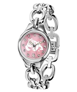 Fresno State Bulldogs Ladies Bracelet Watch Mother of Pearl by SunTime