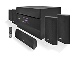 Pyle PT628A PylePro 400-Watt 5.1 Channel Home Theater System with AM/FM Tuner from Pyle